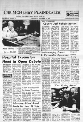McHenry Plaindealer (McHenry, IL), 12 Nov 1980