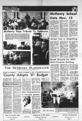 McHenry Plaindealer (McHenry, IL), 14 Nov 1980