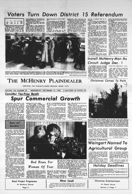 McHenry Plaindealer (McHenry, IL), 19 Nov 1980