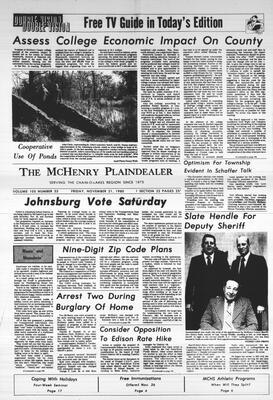 McHenry Plaindealer (McHenry, IL), 21 Nov 1980