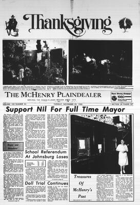 McHenry Plaindealer (McHenry, IL), 26 Nov 1980