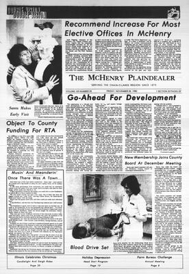 McHenry Plaindealer (McHenry, IL), 28 Nov 1980
