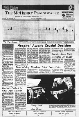McHenry Plaindealer (McHenry, IL), 26 Dec 1980