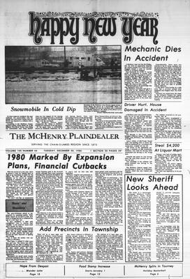 McHenry Plaindealer (McHenry, IL), 30 Dec 1980