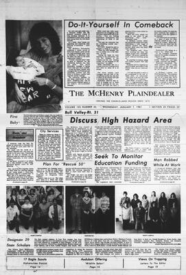 McHenry Plaindealer (McHenry, IL), 7 Jan 1981