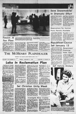 McHenry Plaindealer (McHenry, IL), 9 Jan 1981