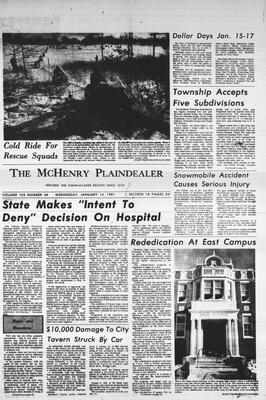 McHenry Plaindealer (McHenry, IL), 14 Jan 1981