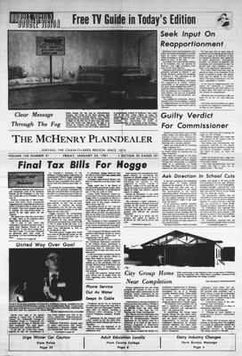 McHenry Plaindealer (McHenry, IL), 23 Jan 1981