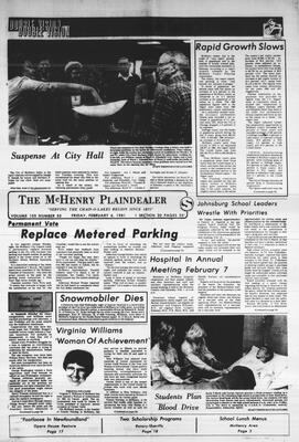 McHenry Plaindealer (McHenry, IL), 6 Feb 1981