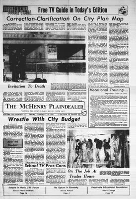 McHenry Plaindealer (McHenry, IL), 13 Feb 1981