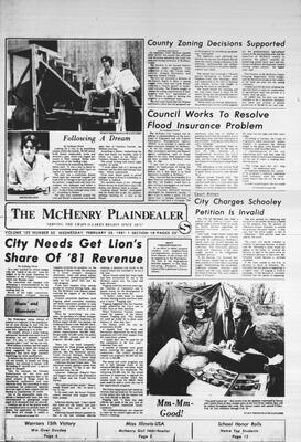 McHenry Plaindealer (McHenry, IL), 25 Feb 1981