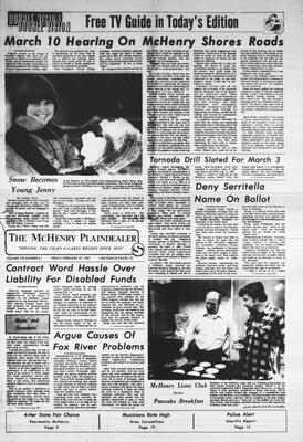 McHenry Plaindealer (McHenry, IL), 27 Feb 1981