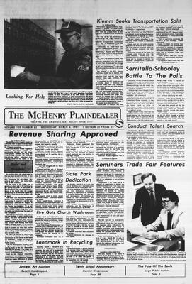 McHenry Plaindealer (McHenry, IL), 4 Mar 1981