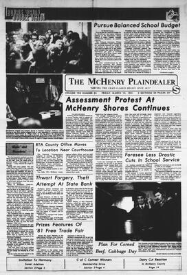 McHenry Plaindealer (McHenry, IL), 13 Mar 1981