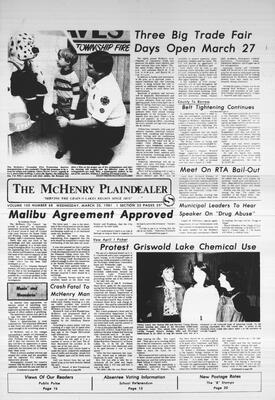 McHenry Plaindealer (McHenry, IL), 25 Mar 1981
