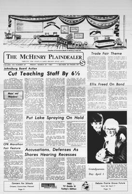 McHenry Plaindealer (McHenry, IL), 27 Mar 1981