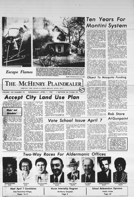 McHenry Plaindealer (McHenry, IL), 1 Apr 1981