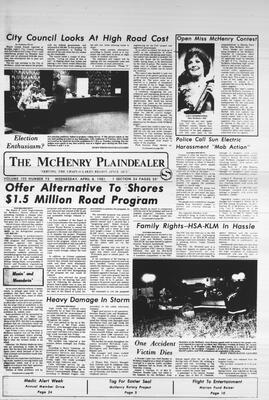 McHenry Plaindealer (McHenry, IL), 8 Apr 1981