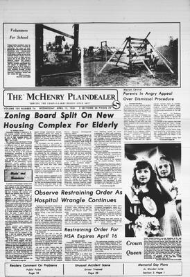 McHenry Plaindealer (McHenry, IL), 15 Apr 1981