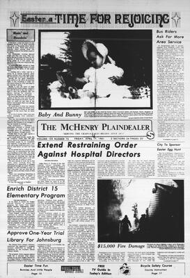 McHenry Plaindealer (McHenry, IL), 17 Apr 1981