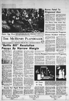 McHenry Plaindealer (McHenry, IL), 22 Apr 1981