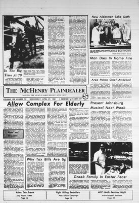 McHenry Plaindealer (McHenry, IL), 29 Apr 1981