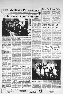 McHenry Plaindealer (McHenry, IL), 1 May 1981