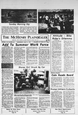 McHenry Plaindealer (McHenry, IL), 6 May 1981