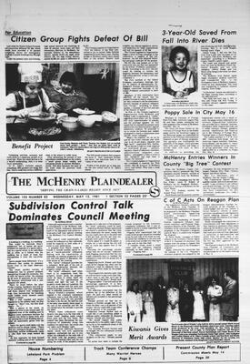 McHenry Plaindealer (McHenry, IL), 13 May 1981