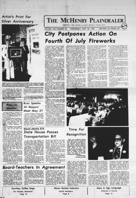 McHenry Plaindealer (McHenry, IL), 20 May 1981
