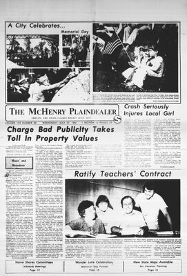 McHenry Plaindealer (McHenry, IL), 27 May 1981