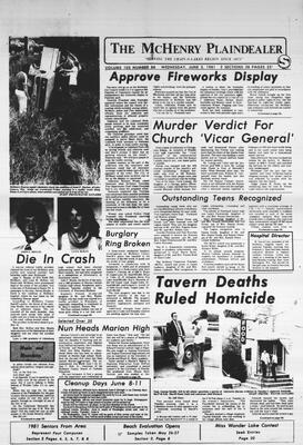 McHenry Plaindealer (McHenry, IL), 3 Jun 1981