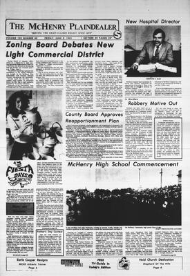 McHenry Plaindealer (McHenry, IL), 5 Jun 1981