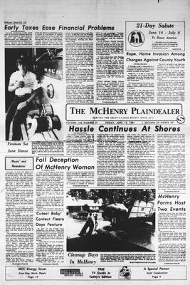 McHenry Plaindealer (McHenry, IL), 12 Jun 1981