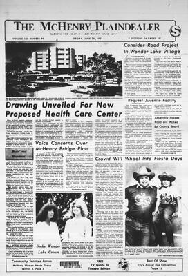 McHenry Plaindealer (McHenry, IL), 26 Jun 1981