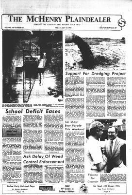 McHenry Plaindealer (McHenry, IL), 17 Jul 1981