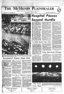McHenry Plaindealer (McHenry, IL), 29 Jul 1981