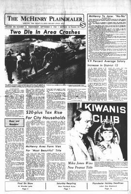 McHenry Plaindealer (McHenry, IL), 2 Sep 1981