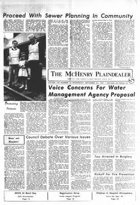 McHenry Plaindealer (McHenry, IL), 23 Sep 1981