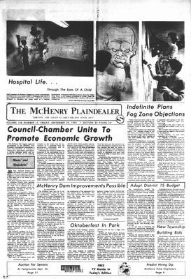 McHenry Plaindealer (McHenry, IL), 25 Sep 1981