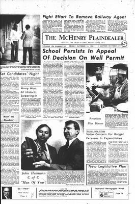 McHenry Plaindealer (McHenry, IL), 16 Oct 1981