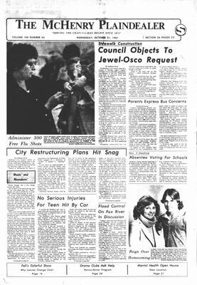 McHenry Plaindealer (McHenry, IL), 21 Oct 1981