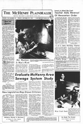 McHenry Plaindealer (McHenry, IL), 23 Oct 1981