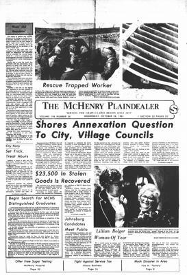 McHenry Plaindealer (McHenry, IL), 28 Oct 1981
