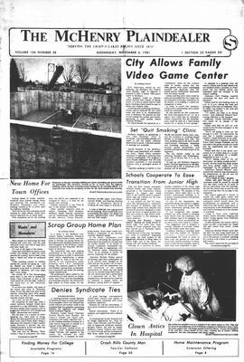 McHenry Plaindealer (McHenry, IL), 4 Nov 1981