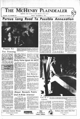McHenry Plaindealer (McHenry, IL), 6 Nov 1981