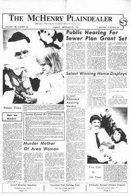 McHenry Plaindealer (McHenry, IL), 22 Dec 1981