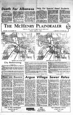 McHenry Plaindealer (McHenry, IL), 21 May 1982