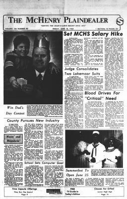 McHenry Plaindealer (McHenry, IL), 18 Jun 1982