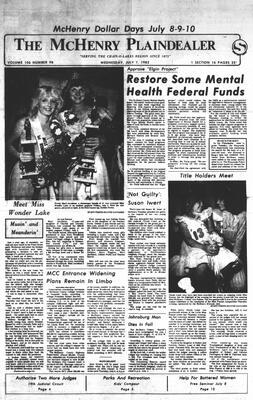McHenry Plaindealer (McHenry, IL), 7 Jul 1982